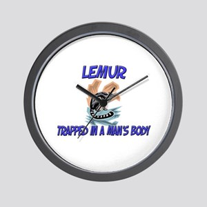 Lemur Trapped In A Man's Body Wall Clock