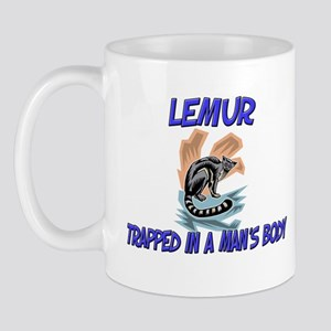 Lemur Trapped In A Man's Body Mug