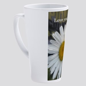LoveYouBubbe 17 oz Latte Mug