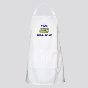 Hyena Trapped In A Man's Body BBQ Apron