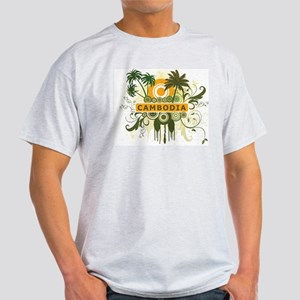 Palm Tree Cambodia Light T-Shirt