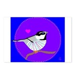 Chickadee Postcards (Package of 8)
