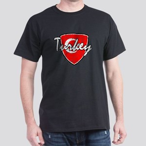 Turkish soccer shield Dark T-Shirt