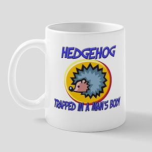 Hedgehog Trapped In A Man's Body Mug