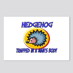 Hedgehog Trapped In A Man's Body Postcards (Packag