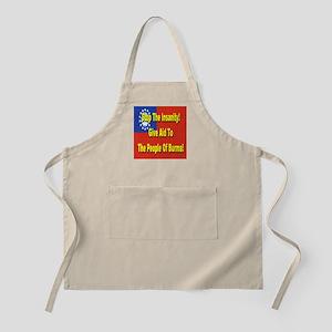 Aid To Burma BBQ Apron