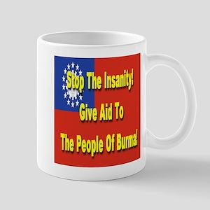 Aid To Burma Mug