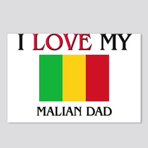 I Love My Malian Dad Postcards (Package of 8)