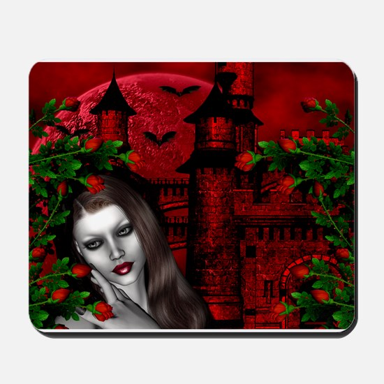 GOTHIC ROSE Mousepad