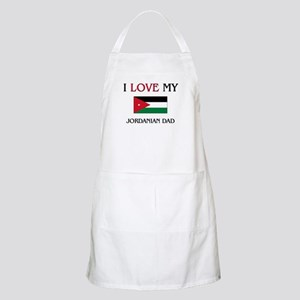 I Love My Jordanian Dad BBQ Apron