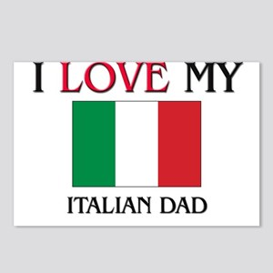 I Love My Italian Dad Postcards (Package of 8)