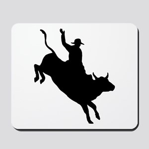 Bull Rider Mousepad