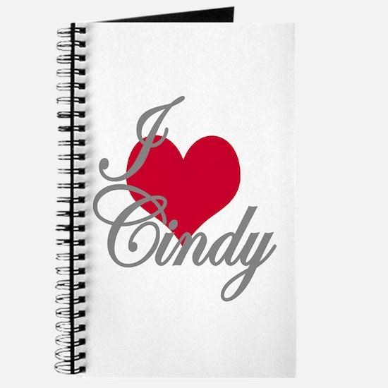 I love (heart) Cindy Journal