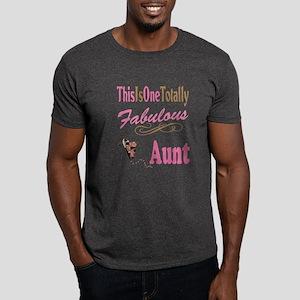 Totally Fabulous Aunt Women's Dark T-Shirt