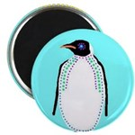 "Penguin 2.25"" Magnet (10 pack)"