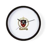 BABINEAU Family Crest Wall Clock