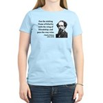 Charles Dickens 24 Women's Light T-Shirt