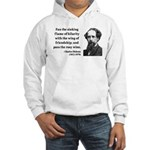 Charles Dickens 24 Hooded Sweatshirt