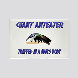 Giant Anteater Trapped In A Man's Body Rectangle M