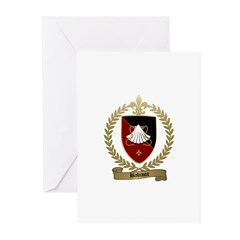 BABINOT Family Crest Greeting Cards (Pk of 10)