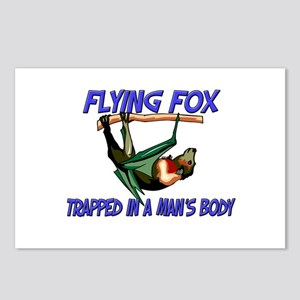 Flying Fox Trapped In A Man's Body Postcards (Pack