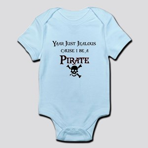 I be a Pirate Infant Bodysuit