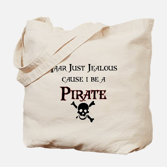 I be a Pirate Tote Bag