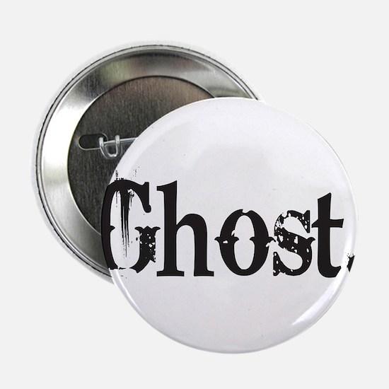 "Grunge Ghost 2.25"" Button (10 pack)"