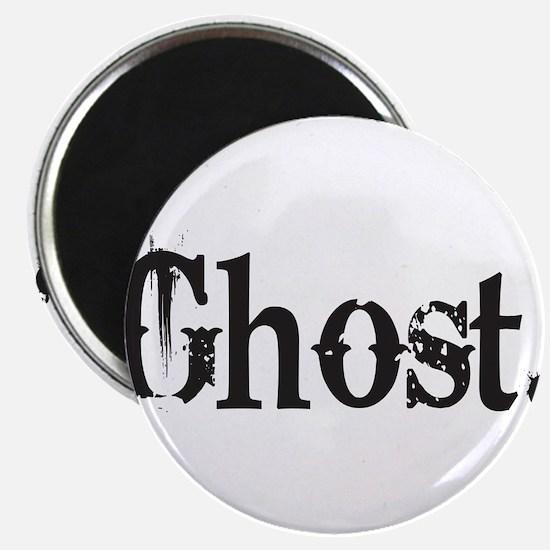 "Grunge Ghost 2.25"" Magnet (10 pack)"
