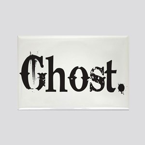 Grunge Ghost Rectangle Magnet