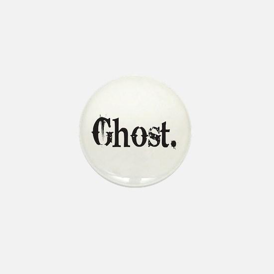 Grunge Ghost Mini Button