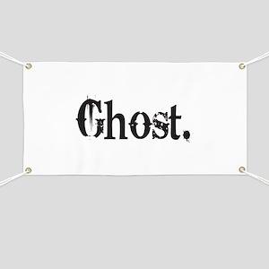 Grunge Ghost Banner
