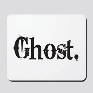 Grunge Ghost Mousepad