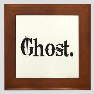 Grunge Ghost Framed Tile