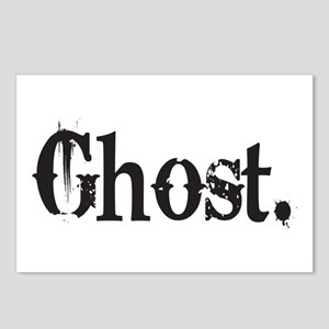 Grunge Ghost Postcards (Package of 8)