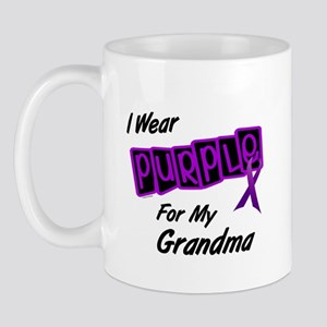 I Wear Purple 8 (Grandma) Mug