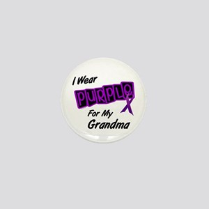 I Wear Purple 8 (Grandma) Mini Button