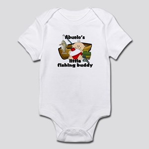 Abuelo's Fishing Buddy Infant Bodysuit