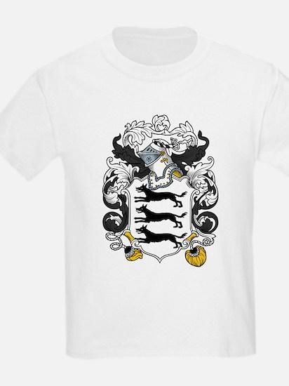 Lovett Family Crest Kids T-Shirt