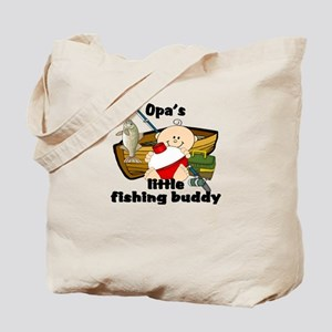 Opa's Fishing Buddy Tote Bag
