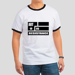 Resistance: Black Ringer T
