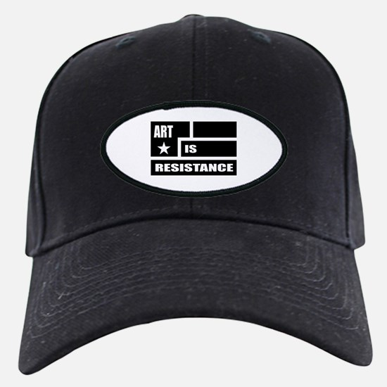 Resistance: Black Baseball Hat