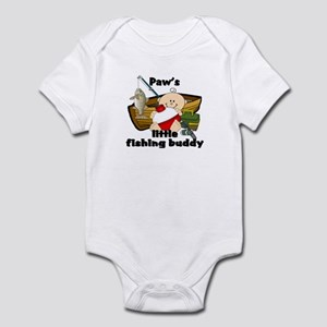 Paw's Fishing Buddy Infant Bodysuit