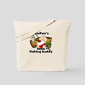 PawPaw's Fishing Buddy Tote Bag