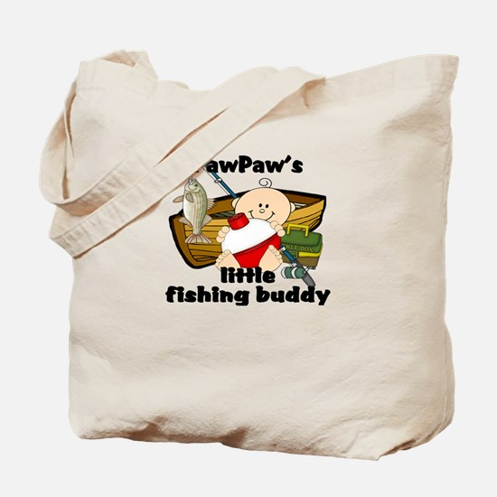 PawPaw's Fishing Buddy Tote Bag