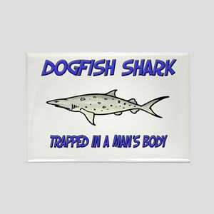 Dogfish Shark Trapped In A Man's Body Rectangle Ma