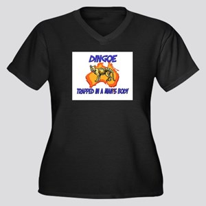 Dingoe Trapped In A Man's Body Women's Plus Size V