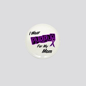 I Wear Purple 8 (Mom) Mini Button
