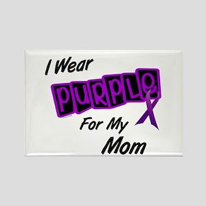 I Wear Purple 8 (Mom) Rectangle Magnet