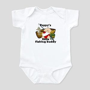 Poppy's Fishing Buddy Infant Bodysuit